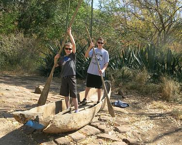 Boys in Livingston Boat
