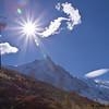 Aiguille du Midi et Mont Blanc (Chamonix) - Haute Savoie - France