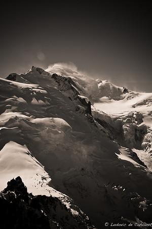 Mont Blanc (4807m) - Haute Savoie - France (vue de l'Aiguille du Midi)