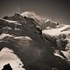 Mont Blanc (4807m) - Haute Savoie - France<br /> (vue de l'Aiguille du Midi)