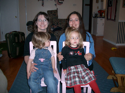 Alabama with Cousin Lori's Family  in March 2005