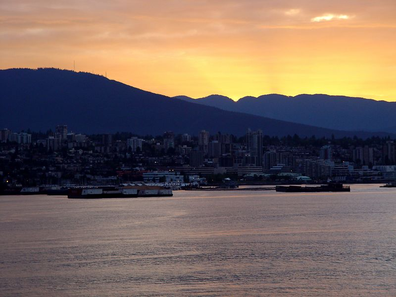 Vancouver at sunrise