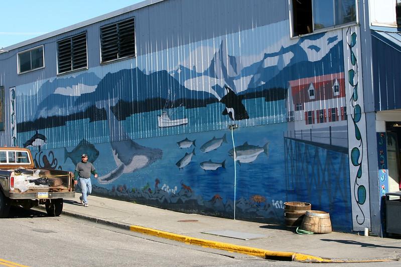 Mural at Hammer & Wikan