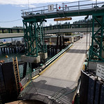 Leaving the Anacortes dock