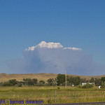 Fire plume weather system