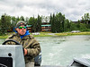 Our last day in Anchorage we went salmon fishing in Sterling Alaska. It required spending 6 hours on a bus but it was fun. The guide got 3 fish and I got 2.