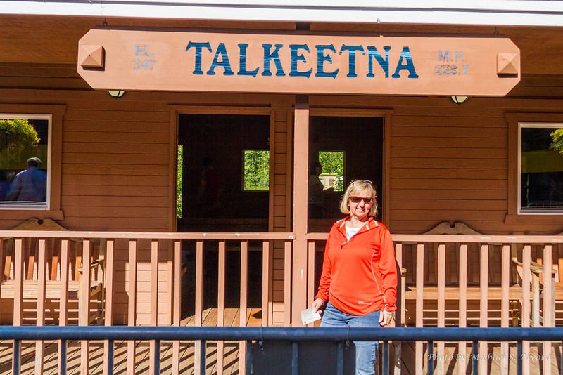 1st stop was Talkeetna.