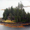 View from Island Wings float plain on return from Traitor's Cove