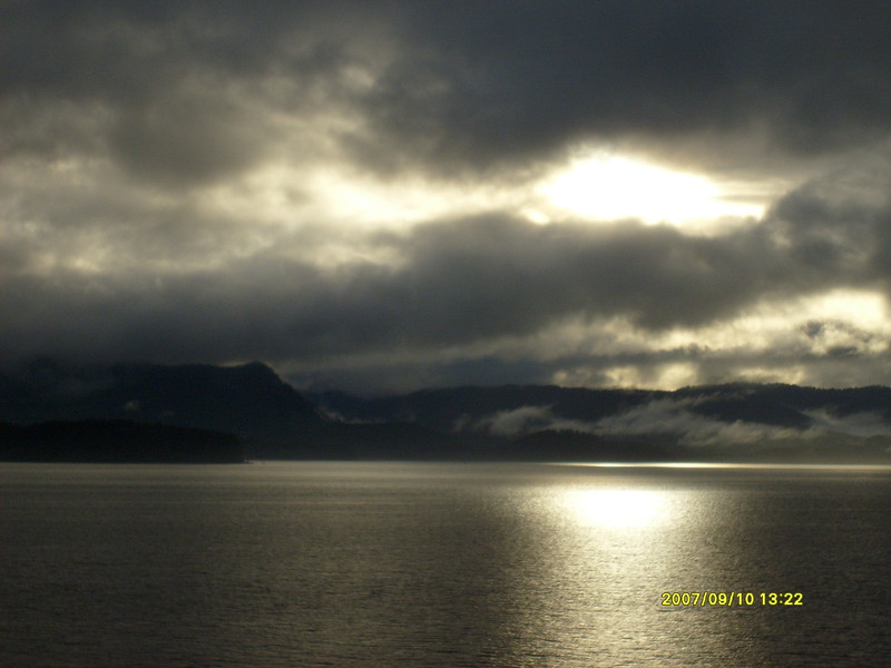 Leaving Hoonah.