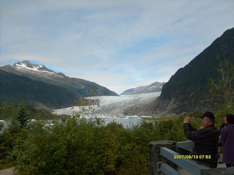 Mendenhall Glacier overlook.