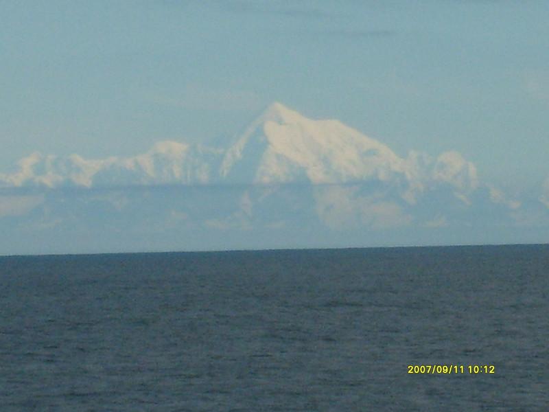 Leaving Hubbard glacier area.
