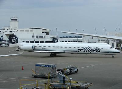 Alaska Airlines @ Seattle-Tacoma International Airport (SEA)