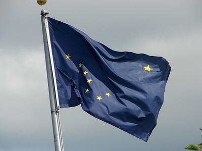 Alaska State Flag @ Homer