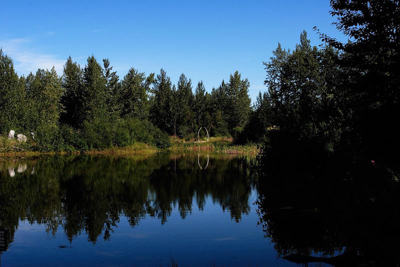 Photo taken in Alaska Native Heritage Center