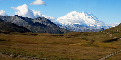 Full view of Mt. McKinley