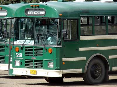 Denali Bus @ Denali NP (Visitor Center)