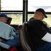 MaryAnne & Ken taking naps @ Denali Park Road