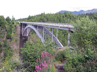 Hurricane Gulch Bridge @ George Parks Highway