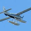 Floatplane over Homer Airport
