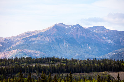 Mountains Near Denali National Park Lodge.