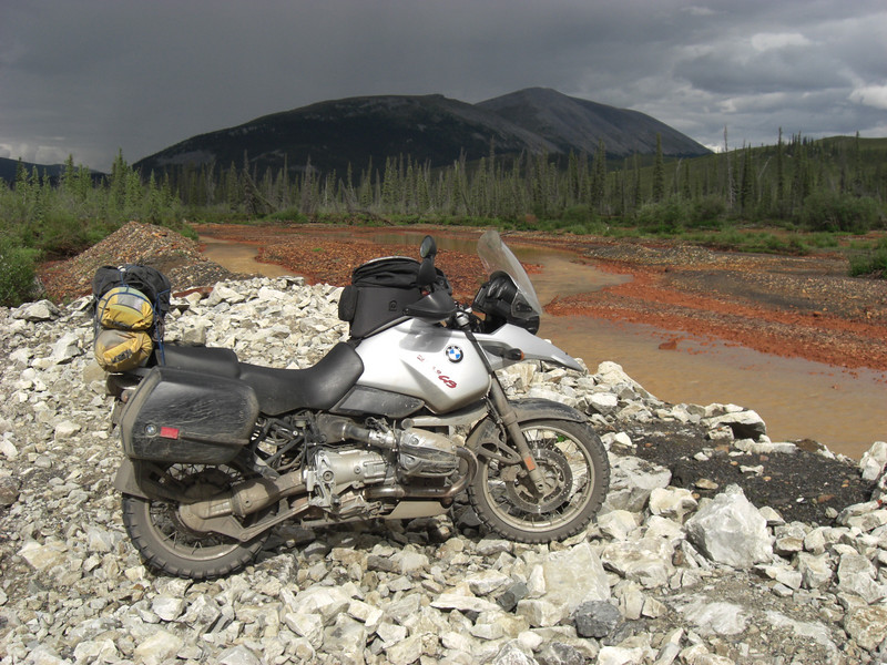 red river (along the dempster), the gs is a bit dirty