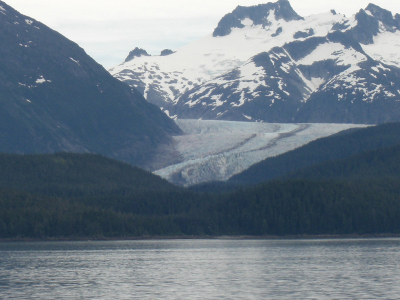 herbert glacier, north of juneau