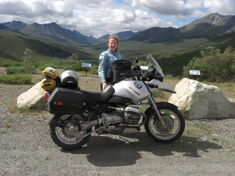 emily and the gs @ tombstone mountain (dempster highway, yukon)