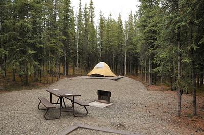 Camp at Riley Creek.