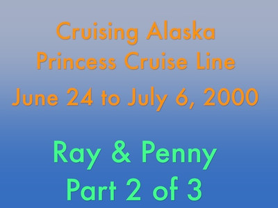 This video is about Alaska -- Pt 2 of 3  http://ray-penny.smugmug.com/Vacation/Alaska/29979605_rdjTNs#!i=2589488752&k=XqWrkSQ&lb=1&s=A  Greetings:  Part 2 whisks you away on a train trip and then on to to a dog resort where you will get to hold and pet baby pups.  Remember, total number of pups handed out has to be the same when puppy session ends and pups are taken back to their quarters so don't think for a second that you can keep one of these furry creatures.   Video is about 18 mins. long.  Cheers!  Ray