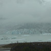 The Mendenhall Glacier - We were there on a very rainy and foggy day as you can see