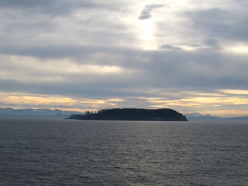 Island as we traverse the Inner Passage.  Didn't take too many pictures as it was overcast and sometimes rainy.