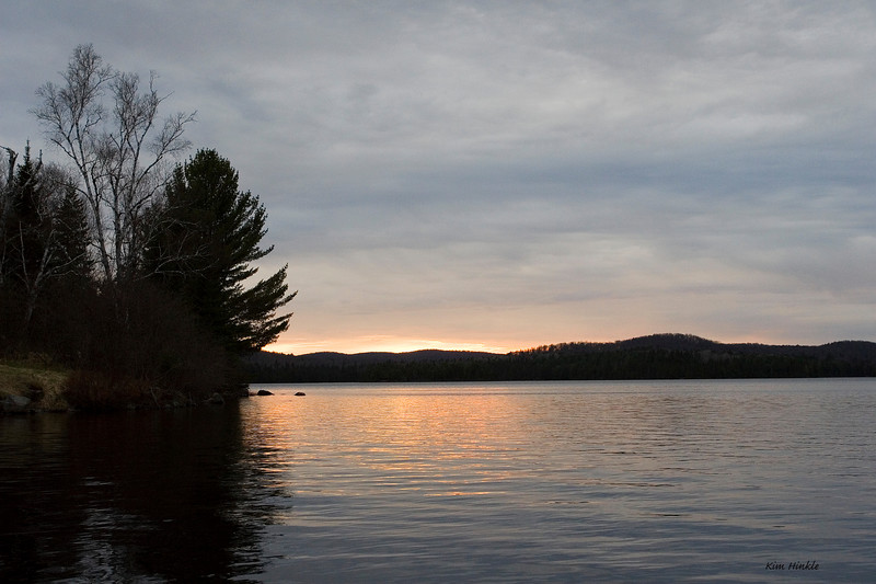 Sunset on Lake Opeongo<br /> Algonquin Provincial Park, Canada