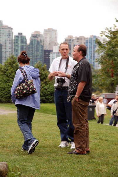 Susan, Scott, Oke, at Stanley Park