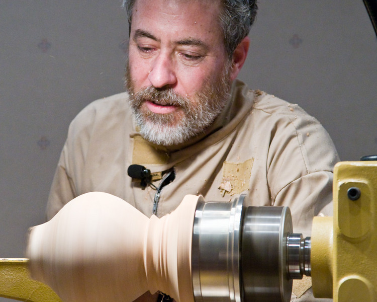 Mike Jackofsky:  Turning Natural Edge Hollow Forms