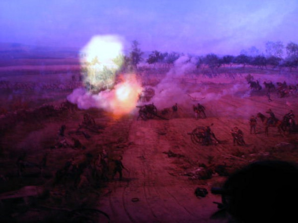 "Cyclorama Film, ""A New Birth of Freedom"" at Gettysburg museum/visitor center"