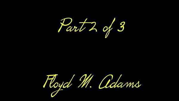 VIDEO:  Part 2 of 3--Eulogies