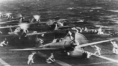 VIDEO:  Eye -witness account of attack on the USS Oklahoma by a survivor.   Click on image above and then on triangle and video will play.
