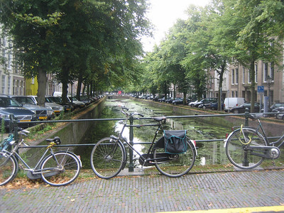 Canal in Den Haag