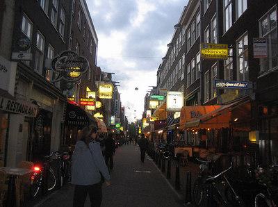 Amsterdam - a wide choice of restaurants
