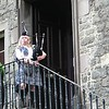 We arrive for bagpipe lessions - and a little whiskey