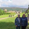 Mary and Russ at Urquhart Castle & Loch Ness