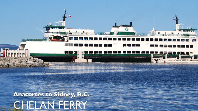 Anacortes to Sidney BC