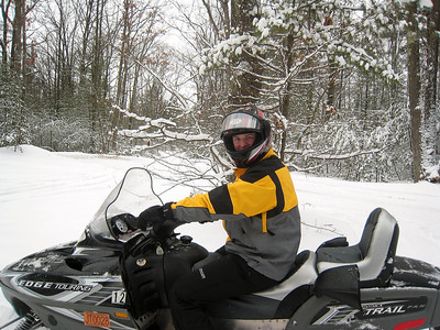 Tyler Snowmobiling