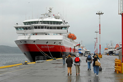 Antarctica & the Chilean Fjords,Ushuaia,Boarding MS Nordkapp