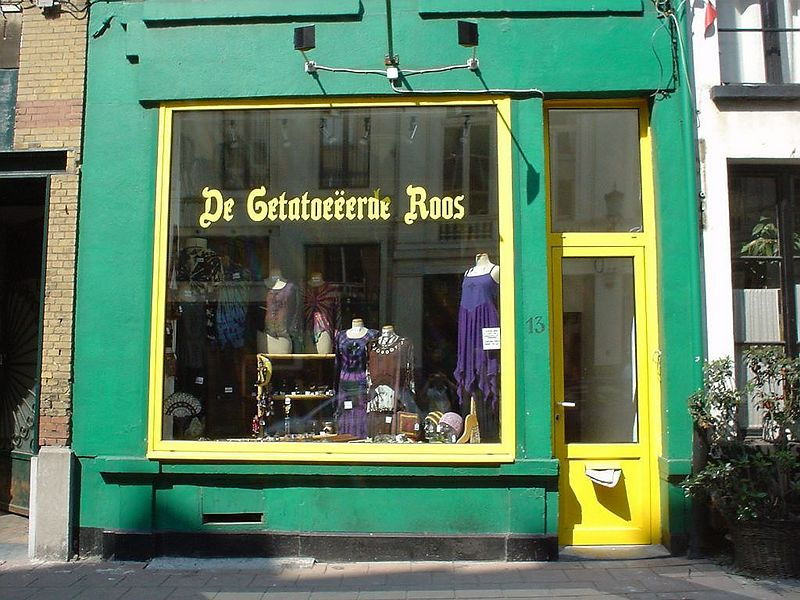Picture of a shop for my friend Roos! :)