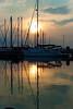 Sunrise over Apostle Islands Marina