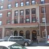 Drew's apartment building.
