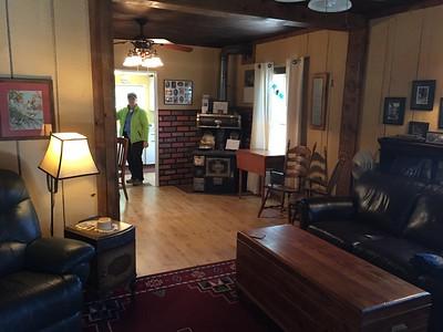 MaryAnne inside George Walker House @ Paradise