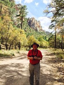 David @ Cave Creek Canyon