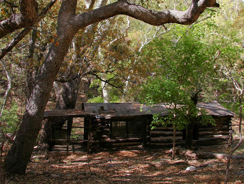 Log Cabin Side View